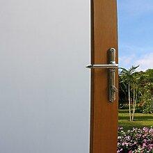 Aingoo Fensterfolie Sichtschutzfolie Fenster Folie Klebefolie Fenster Sonnenschutzfolie Türfolie Glasfolie Anti UV 45*200cm(17.7*78.7 inch)