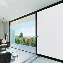 Aingoo Fensterfolie Sichtschutzfolie Fenster Folie Klebefolie Fenster Sonnenschutzfolie Türfolie Glasfolie Anti UV 45 * 200cm (17.7 * 78.7 inch)