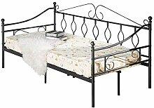 Aingoo Tagesbett Metallbett mit Bettrahmen für