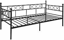 Aingoo Tagesbett mit lattenrost Metallbett