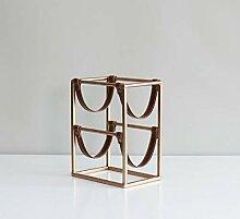 Ainich Home Decoration Nordic Weinregal Metal