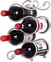 Ainich Wein Weinregal European Style Schmiedeeisen