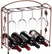 Ainich Weinglashalter Abnehmbare Weinregal