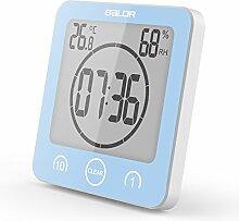 Ainstsk Badezimmer Uhr Dusche Timer Alarm Digitale