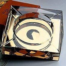 AINUO Luxus Kristall Aschenbecher Kreative