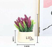 AIOXY Künstliche Pflanzen Lebensechte