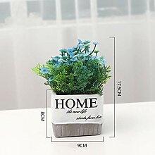 AIOXY Kunstpflanze Künstliche Blumen Deko mit