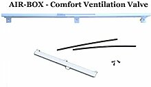 AIR-BOX Comfort Fenster Belüftung Set (ohne