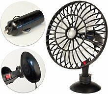 Air-Cooler Universal Ventilator 12V ca. 15 cm Camping Wohn-Mobil Wohn-Wagen Boot Kühler Raum-Lüfter Luft-Erfrischer Lüftung Venti Klima Luft-Erfrischer Lüftung