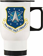 Air Force Space Command Auto-Becher, Edelstahl,