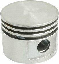 Air Kompressor Armatur Teil Silber Ton Aluminium Legierung 47mm Dia Kolben Replica