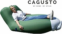 Air Sofa CAGUSTO® • grün • Sitzkissen