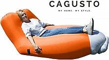 Air Sofa CAGUSTO® • orange • Sitzkissen