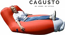 Air Sofa CAGUSTO® • rot • Sitzkissen