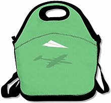 Aircraft Unisex Lunch Box Food Bag Lunch Bag For