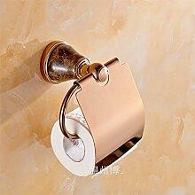 AiRobin-Messing Marmor Wand Toilettenpapierhalter