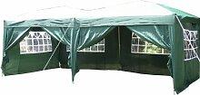 Airwave Pop-Up-Pavillon, 6 x 3 m, grün