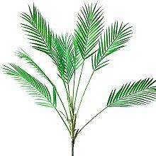 Aisamco Künstliche Tropische Palmenblatt,