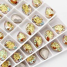 AISHANG Top Glitter Patina Drop K9 Glas Kristall