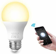 AISIRER Smart Lampe WLAN Glühbirnen Wifi Led