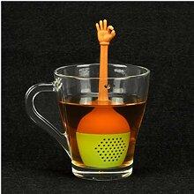Aisoway Lustige Hand Gestures Tee-Silikon