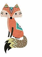 Aisufen Nette Tribal Fox Wandaufkleber Vinyl