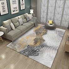 AITK Shaggy Teppich 120x160cm Rechteck Design