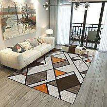 AITK Shaggy Teppich 180x280cm Rechteck Design