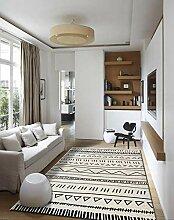 AITK Teppich Flauschig 60x120cm Rechteck Design