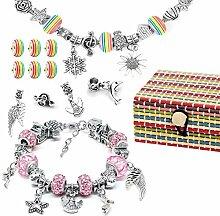 AivaToba Mädchen Geschenke 6-12 Jahre, Armbänder