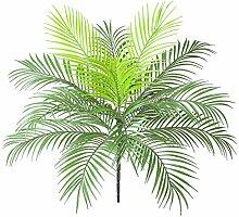 AIVORIUY Künstliche Palmblätter Busch Faux
