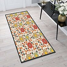 Aiyaoo Teppich für Flur 100x200cm Küchenteppich