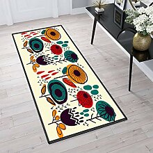 Aiyaoo Teppich für Flur 100x400cm Teppich Läufer