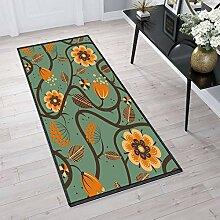 Aiyaoo Teppich für Flur 100x550cm Korridor