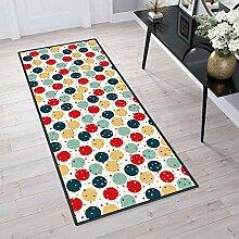 Aiyaoo Teppich für Flur 110x340cm TeppichLäufer