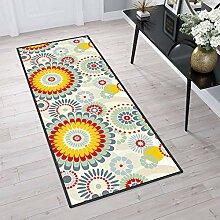 Aiyaoo Teppich für Flur 80x100cm Teppich Läufer