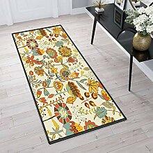 Aiyaoo Teppich für Flur 80x180cm Teppich Läufer