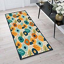 Aiyaoo Teppich für Flur 80x180cm TeppichLäufer