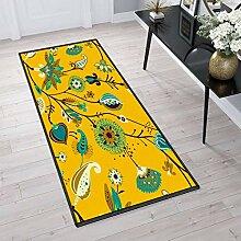Aiyaoo Teppich für Flur 80x200cm TeppichLäufer