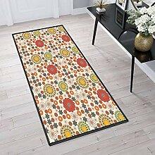 Aiyaoo Teppich für Flur 90x360cm Küchenteppich