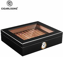 AIYASIWEI Top Holz Zigarre Reisehumidor Box