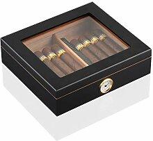 AIYASIWEI Top Zedernholz Reisehumidor Cigar Box