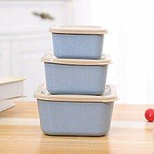 aiyvi 3-in-1-Lunchbox Lunch-Boxe Tragbar Brotdose