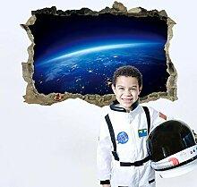 Aizaixinli 3D Universum Aufkleber Für Kinder Baby