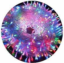 AIZESI Regenbogen Lichterkette 20m LED Innen