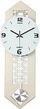 AIZIJI Hängende Uhr Wohnzimmer moderne einfache Uhr kreative Swing Swing Tisch Schlafzimmer Dekoration Quarzuhr / 60x22cm