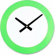 AIZIJI Wall Uhren modern Elegance einfach Clock Round Ultra quiet Clock Tisch, 30 cm