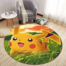 AJ Wallaper 3D Teppich Matte für Pokemon Pikachu