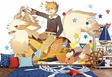AJ WALLPAPER 3D Murals for Pokemon Pikachu 693
