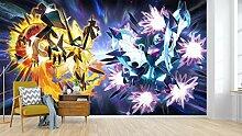 AJ WALLPAPER 3D Murals for Pokemon Pikachu 695